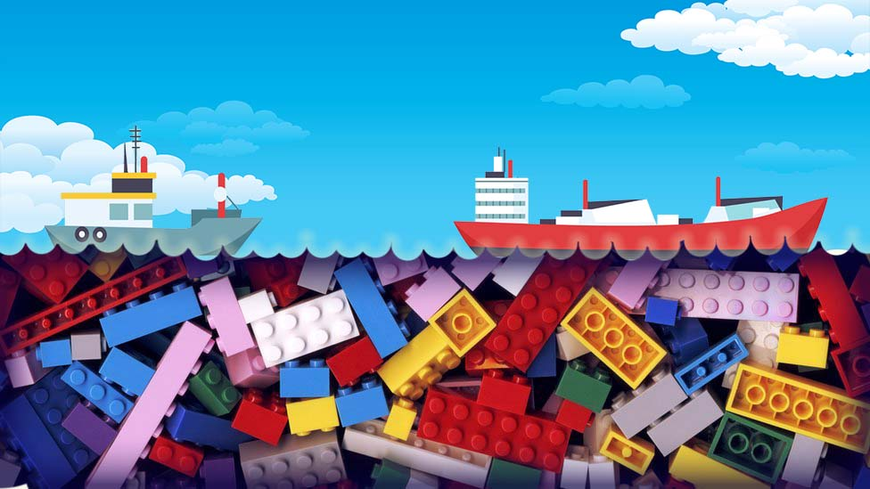 Lego plastic bricks in oceans could be there more than 1,000 years - CBBC Newsround