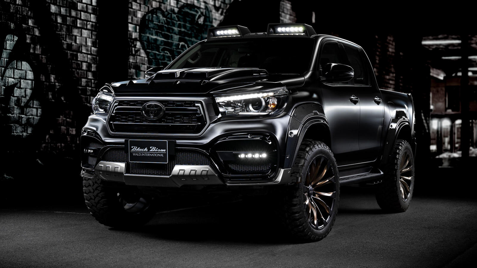 Black Bison Toyota Is The Ford Ranger's Worst Nightmare - CarBuzz