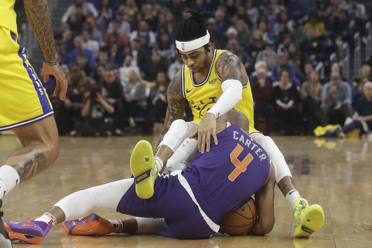 D'Angelo Russell leads Golden State Warriors past Phoenix Suns - Sports Interactive Network Philippines