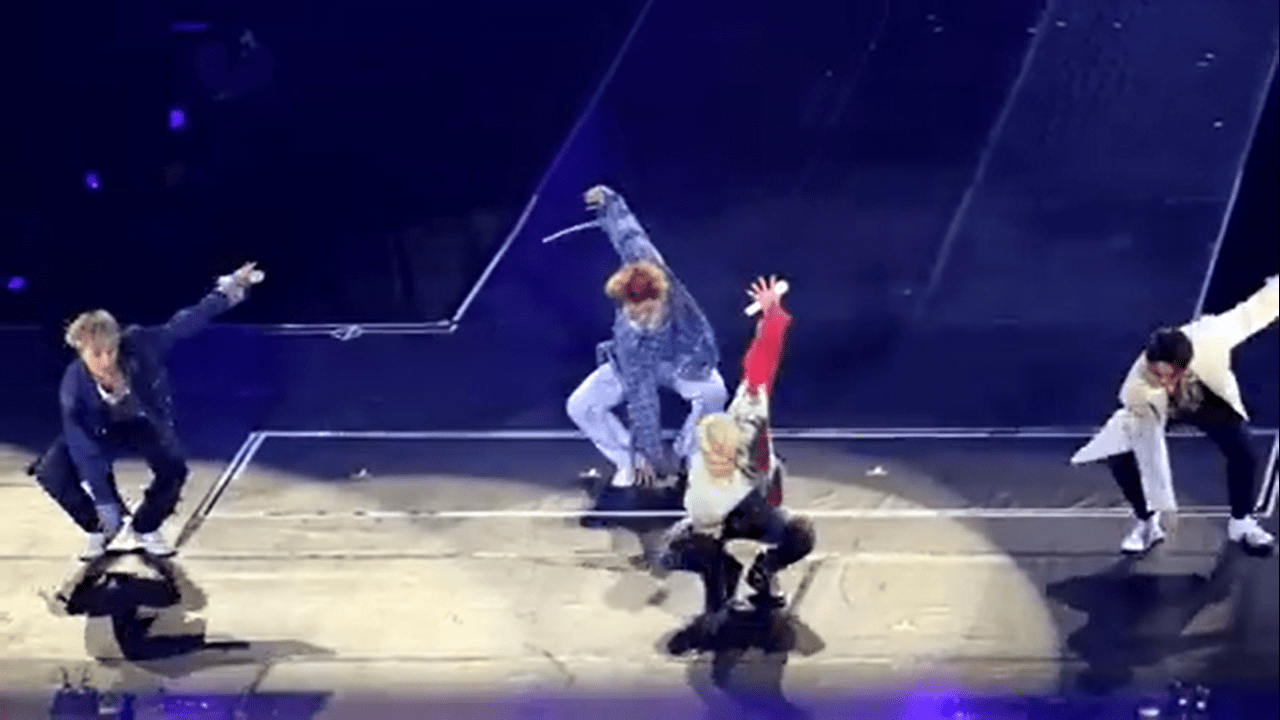 K-pop Group WINNER Dances To Tala During Their Manila Concert - Cosmopolitan Philippines