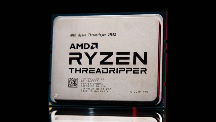 AMD представила Threadripper 3990X: 64-ядерный монстр для создателей контента - 3DNews