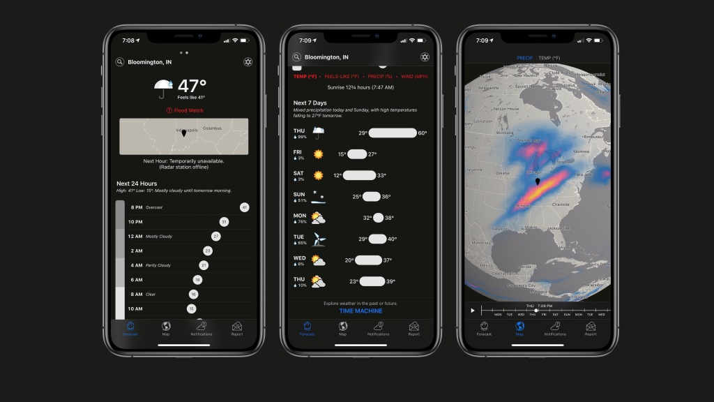 Apple purchases hyperlocal weather app Dark Sky, ending API and killing Android apps - 9to5Mac