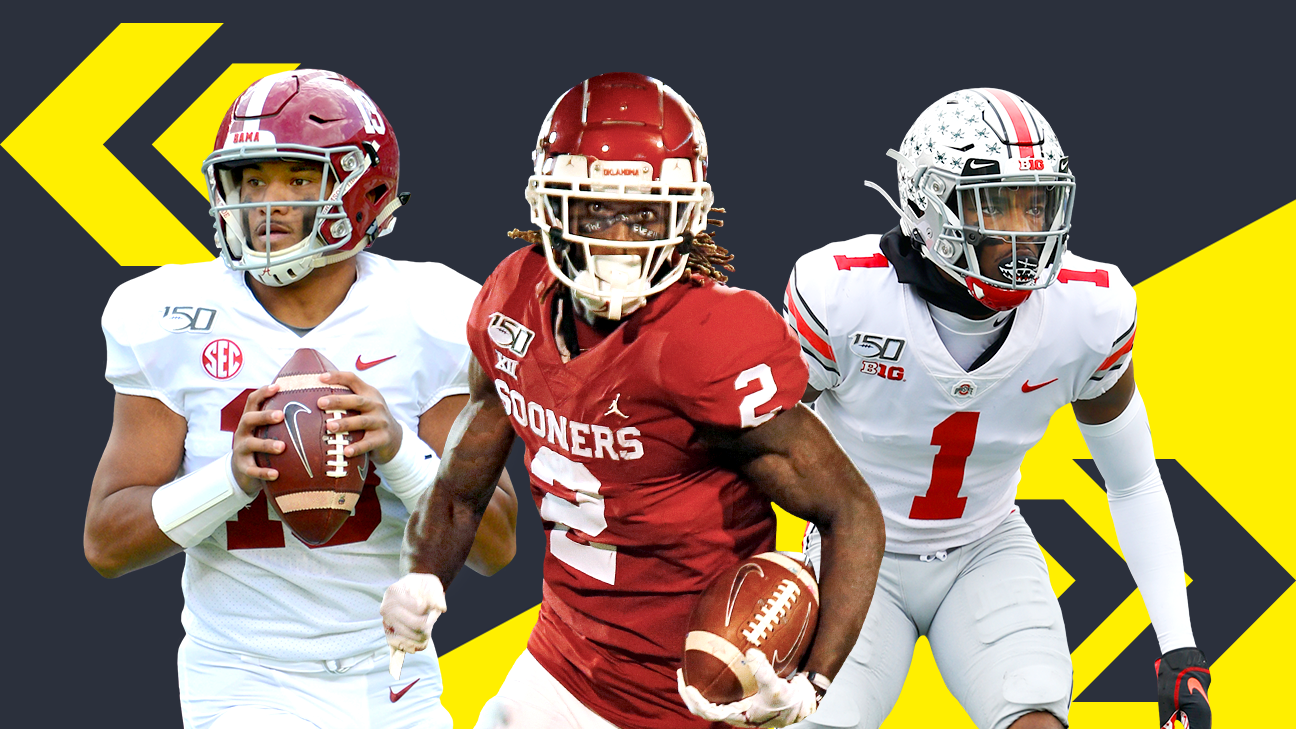 2020 NFL Mock Draft 2.0 - Mel Kiper's new first-round predictions for Tua Tagovailoa, more - ESPN