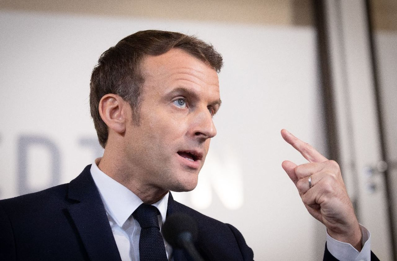 Municipales : Macron tape du poing sur la table - Le Parisien
