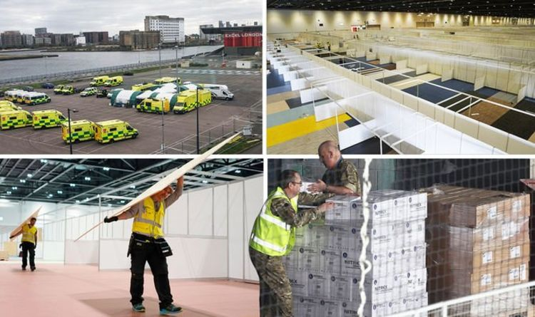 Inside the Nightingale hospital as troops work round the clock to transform ExCel - Express