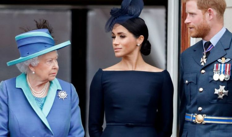 Meghan Markle and Prince Harry spark 'serious disappointment' in Queen with LA move - Express