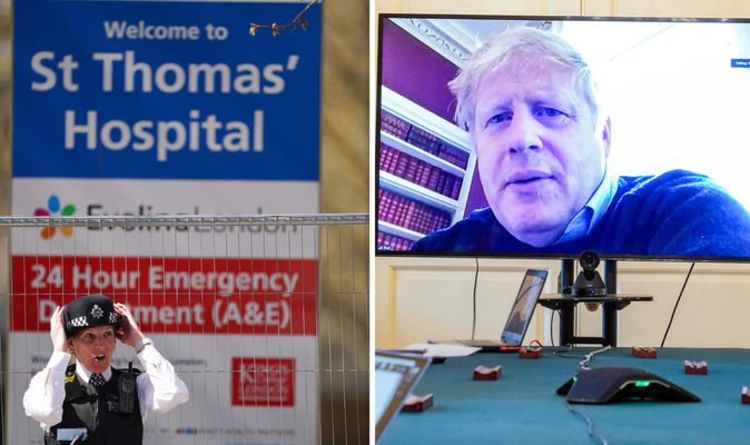 Boris Johnson in intensive care: How ill is Boris Johnson? - Express.co.uk