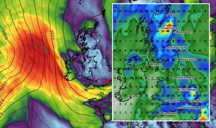 UK weather forecast: Scorching 28C heatwave HALTED as rain storms hit - latest charts - Express.co.uk