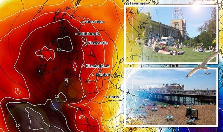 UK heatwave RETURNS: Searing temperatures to hit 80F summer scorcher in DAYS - charts - Express.co.uk
