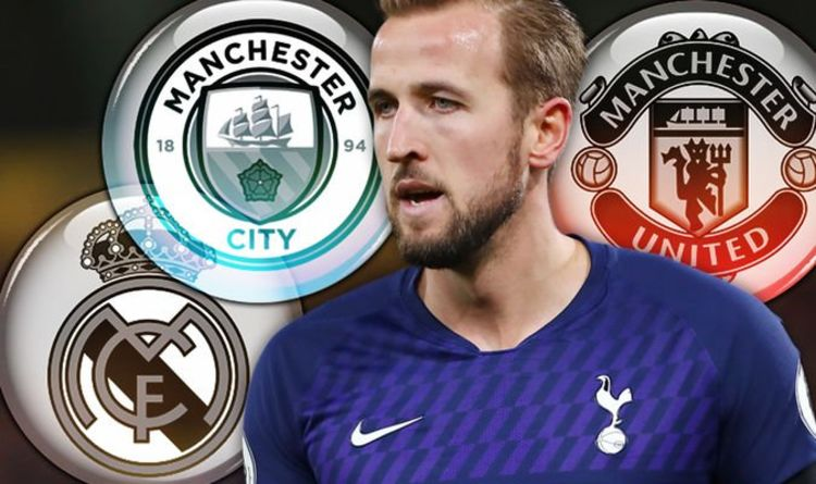 Man City and Real Madrid battle for £150m Harry Kane transfer as Man Utd accept defeat - Express