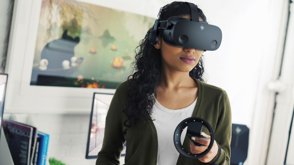 The Valve Index gets checked by this HP VR headset with better specs - TechRadar