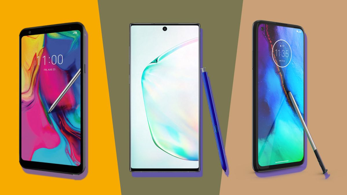 Moto G Stylus vs Samsung Galaxy Note 10 vs LG Stylo 5: The stylus phone showdown - TechRadar India