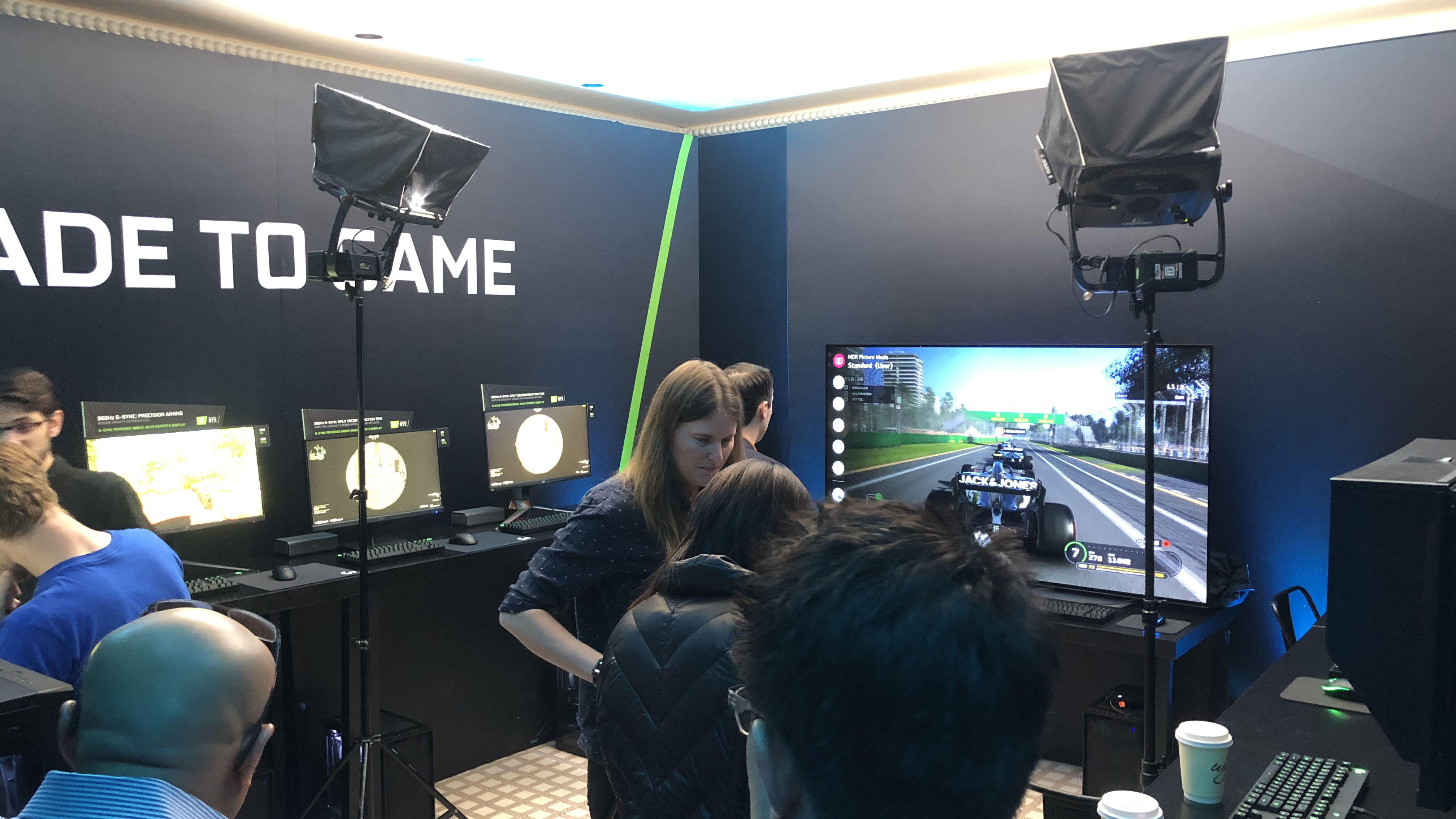 I got to use a 360Hz monitor at CES 2020, and it went better than I thought - TechRadar India