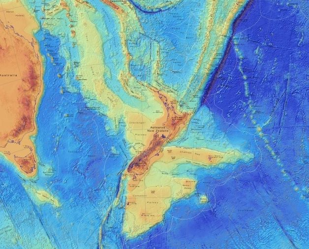 Lost continent of Zealandia mapped in unprecedented detail - Livescience.com