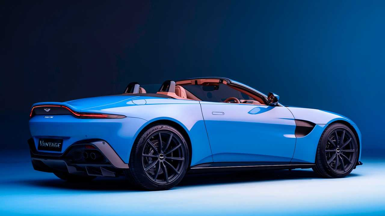2021 Aston Martin Vantage Roadster Has World's Fastest Convertible Roof - Motor1