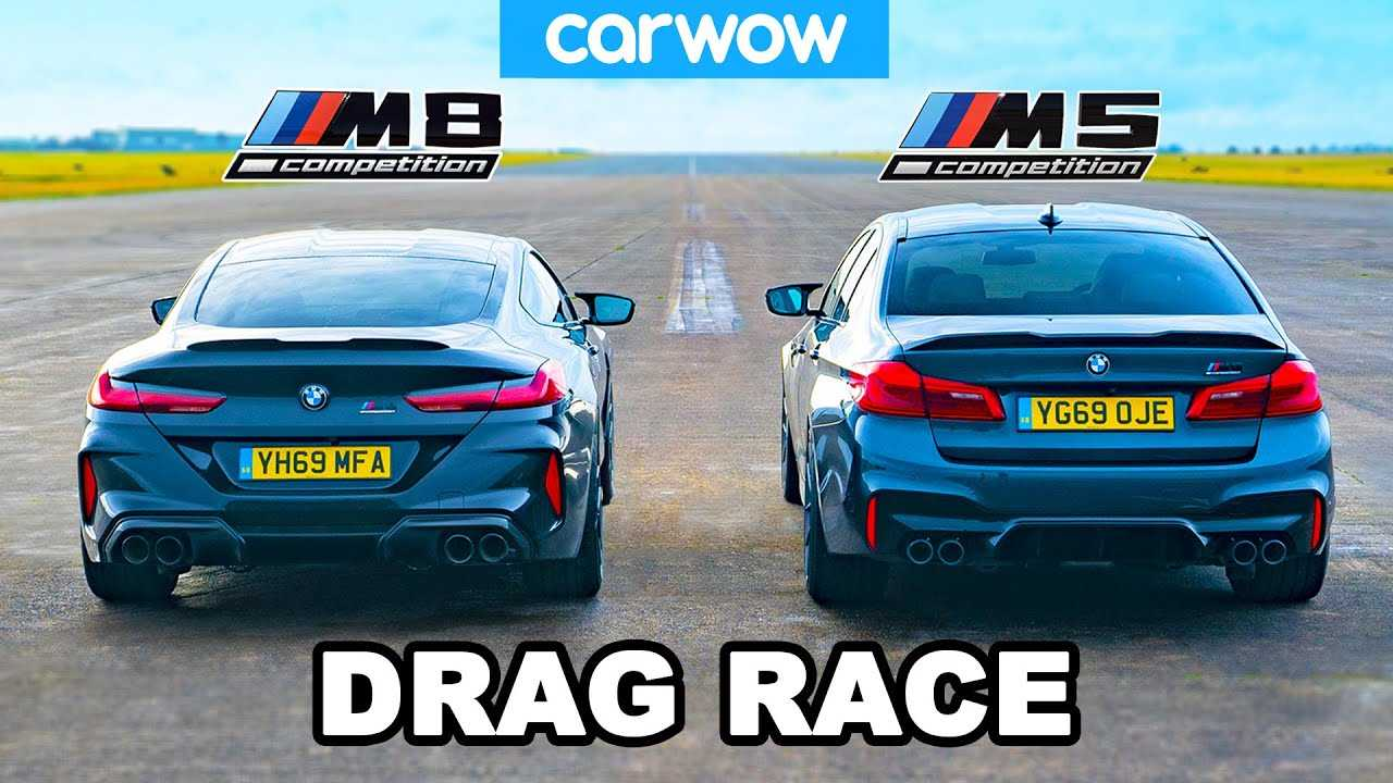 BMW M5 Drag Races M8: Which Competition Model Is Quicker? - Motor1