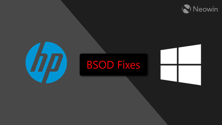 HP releases fix through Windows Update for issue causing BSOD for certain PCs - Neowin