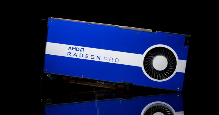 AMD anunță Radeon Pro W5500, placă video pentru profesioniști - start-up.ro