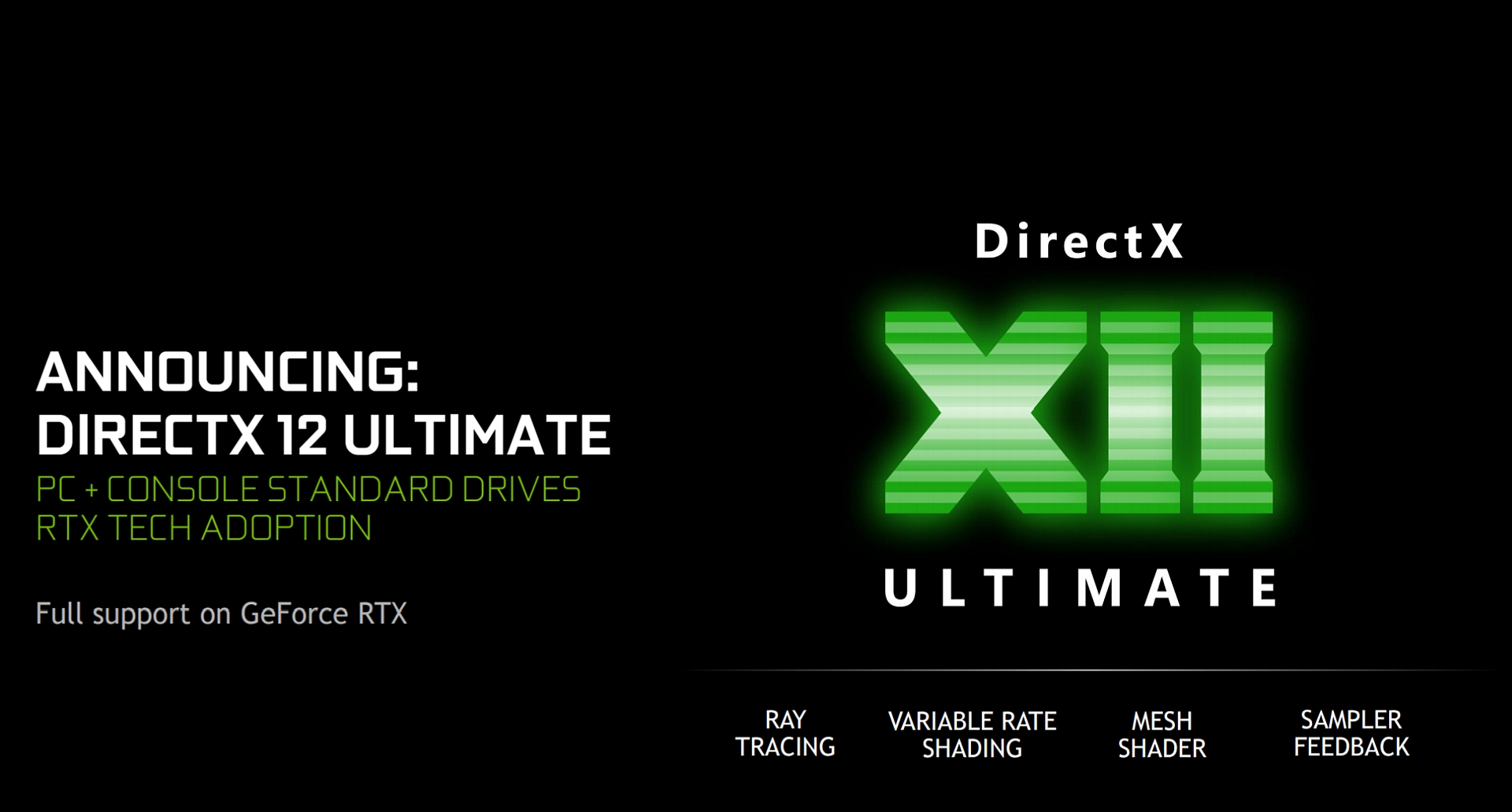 DirectX 12 Ultimate Is Microsoft's Attempt at Unified Next-Gen Graphics on PC and Console - Wccftech