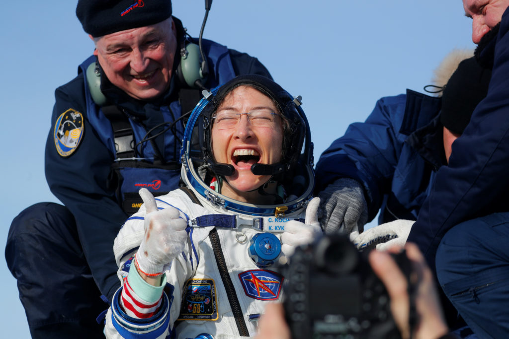 Astronaut Christina Koch on a year without gravity - PBS NewsHour