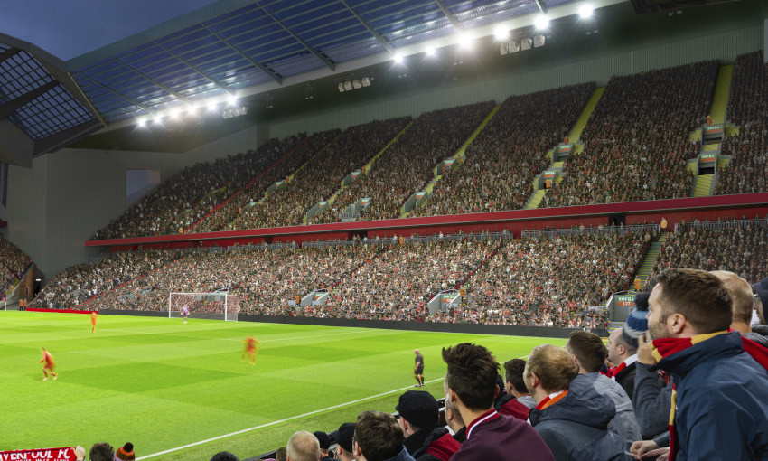 Second-stage public consultation on Anfield Road expansion begins - Liverpool FC