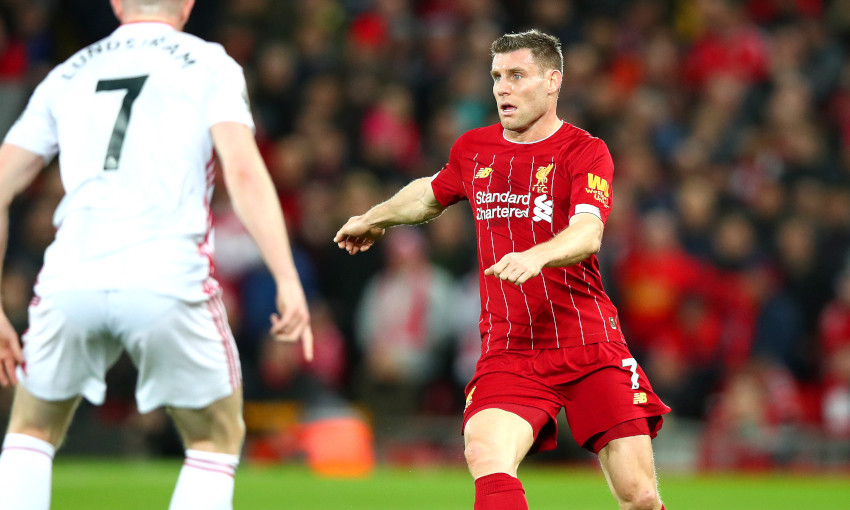 James Milner explains late call to start Sheffield United victory - Liverpool FC