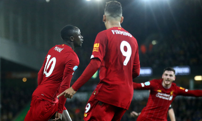 Match report: Sadio Mane goal secures victory at Norwich - Liverpool FC