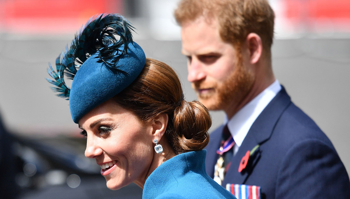 Kate Middleton, Harry in grave difficoltà le chiede aiuto - DiLei