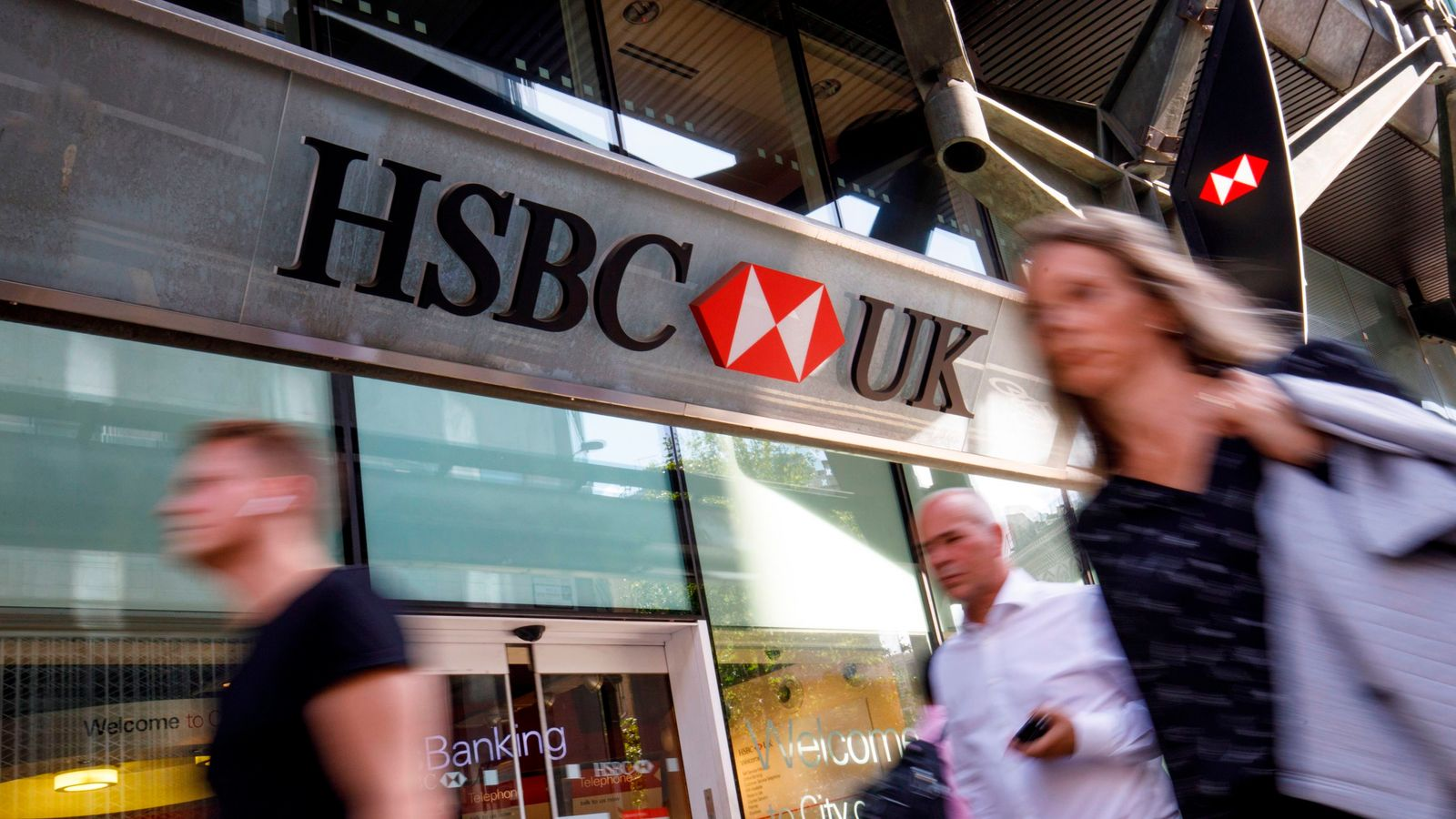 HSBC to cut 35,000 jobs and shed assets in major overhaul - Sky News