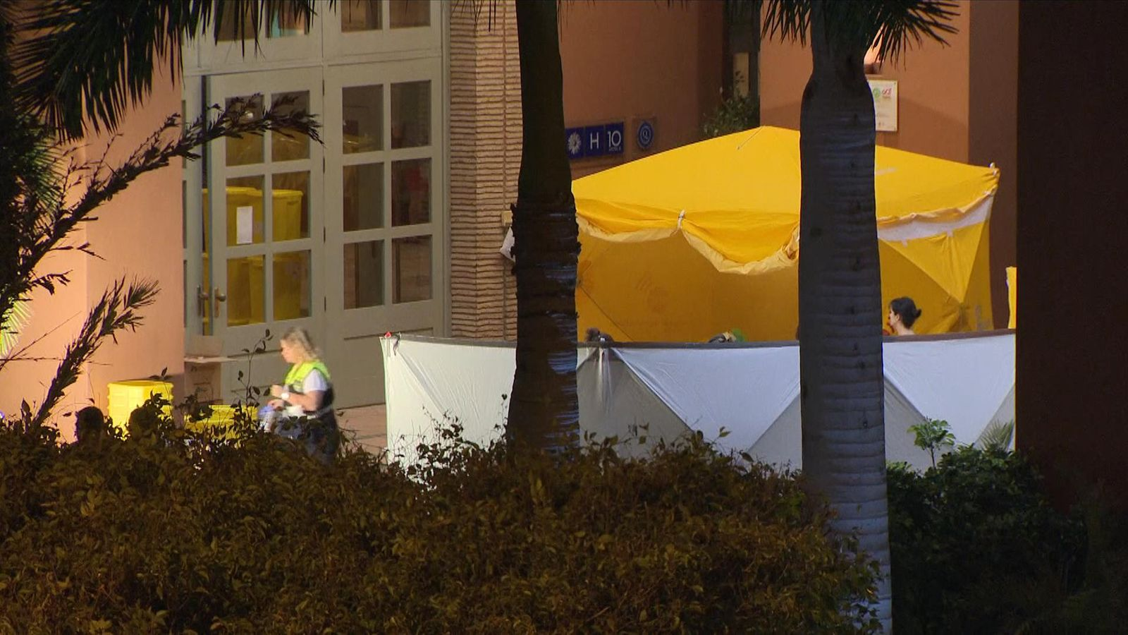 Coronavirus: Confusion for Britons quarantined in Tenerife hotel - Sky News