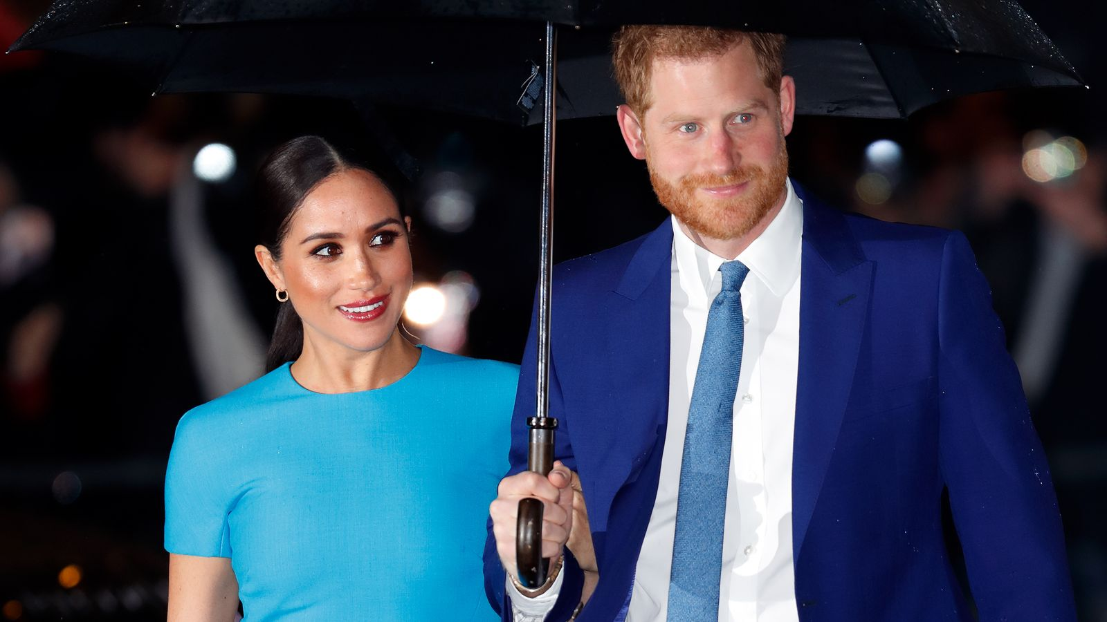 Harry and Meghan reveal the name of their new charitable organisation - Sky News