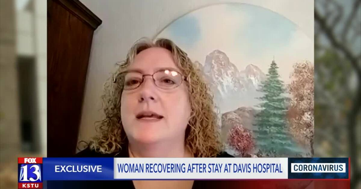 Local News Utah woman recovering from COVID-19 gives insight into treatment process Brian Schnee 10 - fox13now.com