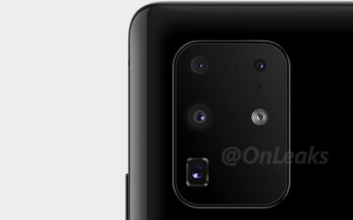 New Samsung Galaxy S11+ image shows actual camera setup - GSMArena.com news - GSMArena.com