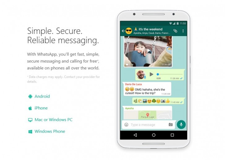 WhatsApp ending support for devices before Android 4.0.3 or before iOS 9 - GSMArena.com news - GSMArena.com