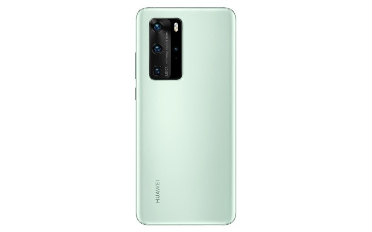 Huawei P40 Pro render shows off new mint green color - GSMArena.com news - GSMArena.com