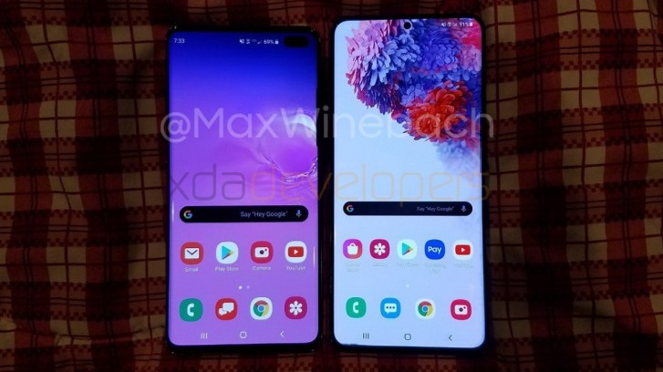 More leaks of Samsung Galaxy S20+: 120Hz display, in-display scanner, 4,500 mAh battery, and no headphone jack - GSMArena.com news - GSMArena.com