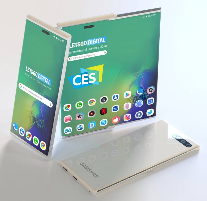 Samsung privately showcased a smartphone with rollable screen - GSMArena.com news - GSMArena.com