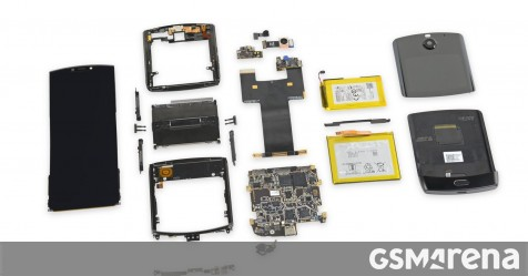 Motorola Razr teardown finds it practically impossible to repair - GSMArena.com news - GSMArena.com