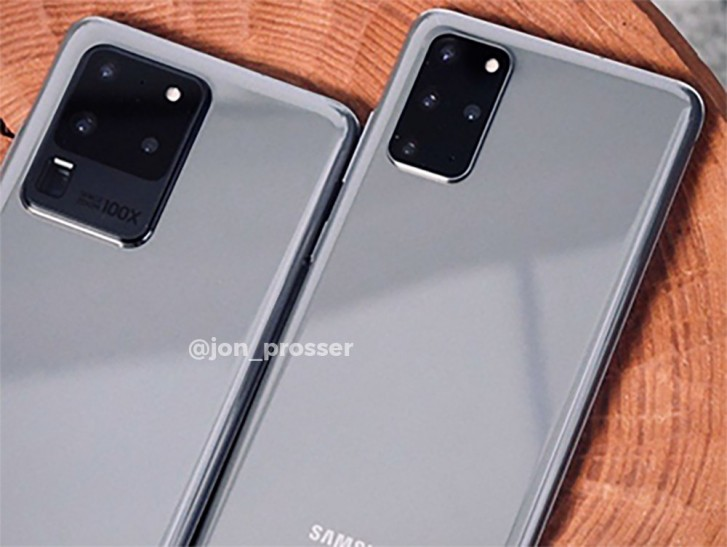 Live image of Galaxy S20 Ultra reveals camera setup, Galaxy S20+ pictured too - GSMArena.com news - GSMArena.com
