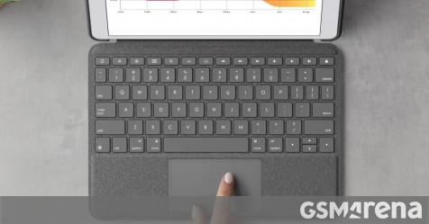 Logitech unveils keyboard cases with trackpads for the other iPads - GSMArena.com news - GSMArena.com