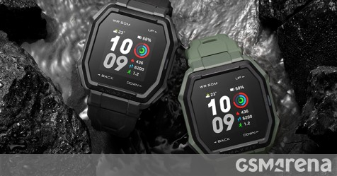Amazfit Ares announced, brings rugged design and up to 2 weeks of battery life - GSMArena.com news - GSMArena.com