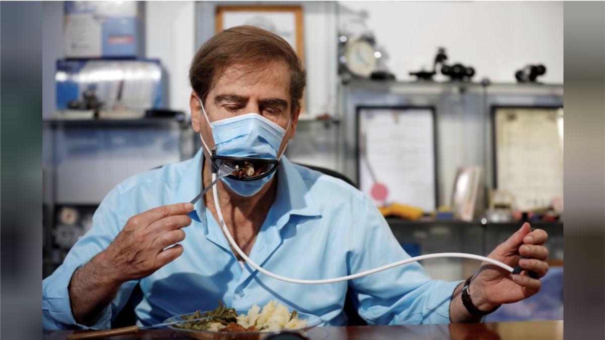 New Mask Could Make Eating in Restaurants Less Risky - VOA Learning English