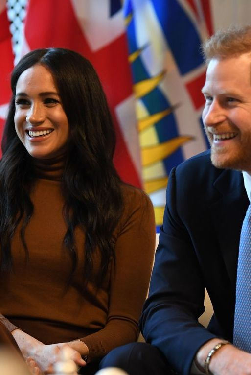Prince Harry and Duchess Meghan Talk Climate Change and Female Empowerment at Canadian High Commission - HarpersBAZAAR.com