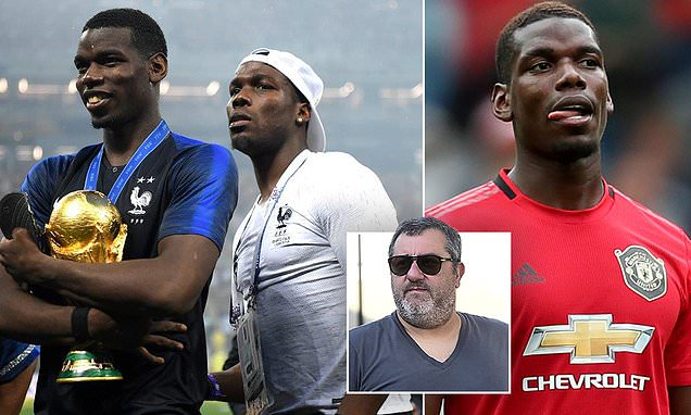 'Everyone knows he wants to leave': Paul Pogba's brother Mathias stirs rumours of midfielder's exit - Daily Mail