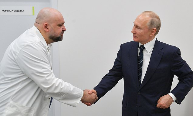Physician who shook hands with Vladimir Putin a week ago tests positive for coronavirus - Daily Mail