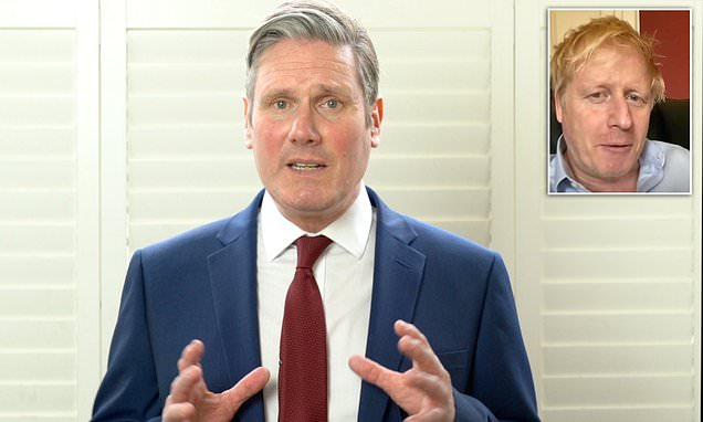 Coronavirus: Sir Keir Starmer accuses Boris Johnson of 'serious mistakes' - Daily Mail