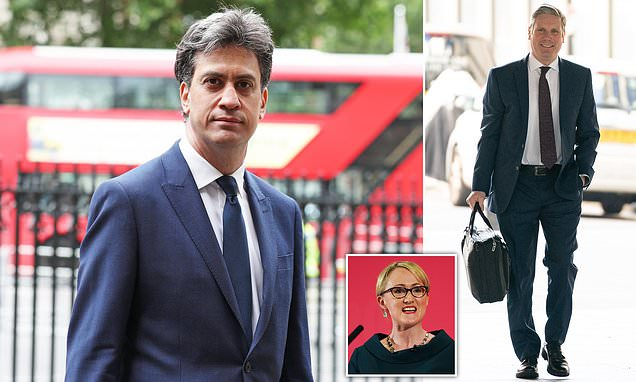 Ed Miliband RETURNS to Labour's top team as new leader Keir Starmer unveils new-look shadow cabinet - Daily Mail