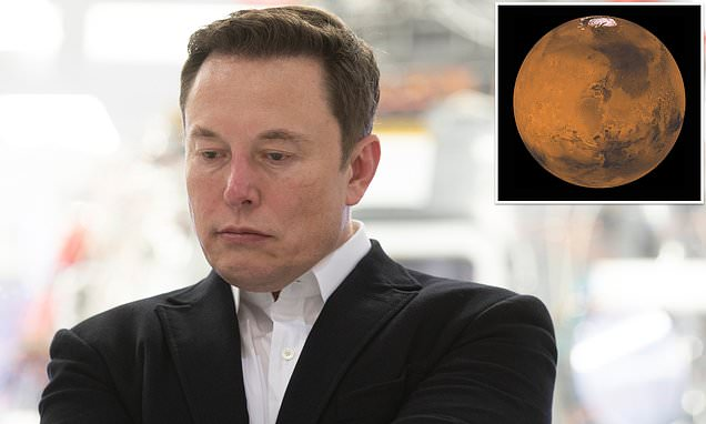Elon Musk's plan to nuke Mars is a cover to deploy US nuclear weapons in space, Russia claims - Daily Mail