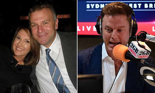 TV star and sports broadcaster Jim Wilson will replace Ben Fordham as the new 2GB Drive radio host - Daily Mail
