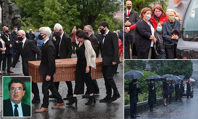 Body of former SDLP leader John Hume arrives at cathedral ahead of funeral - Daily Mail